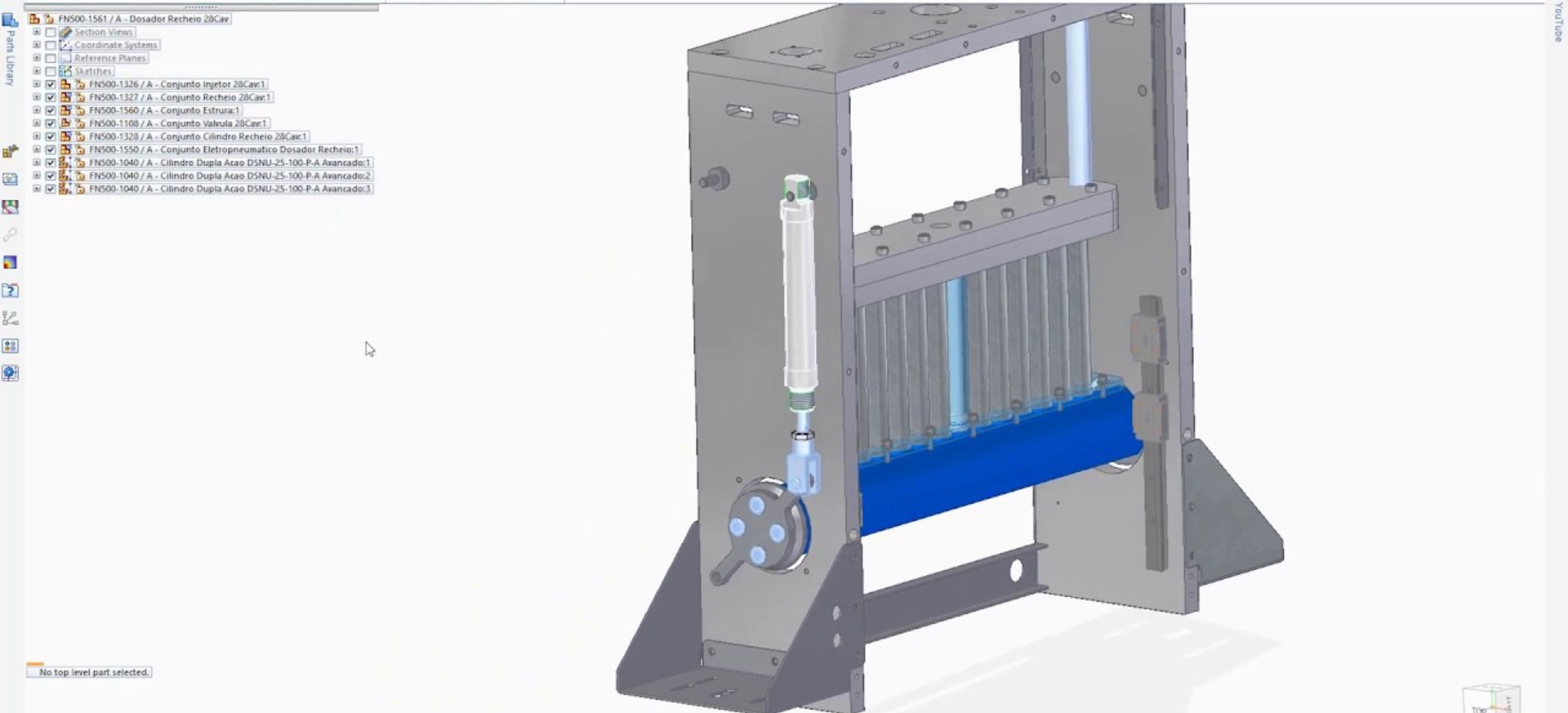 Core CAD in solid edge