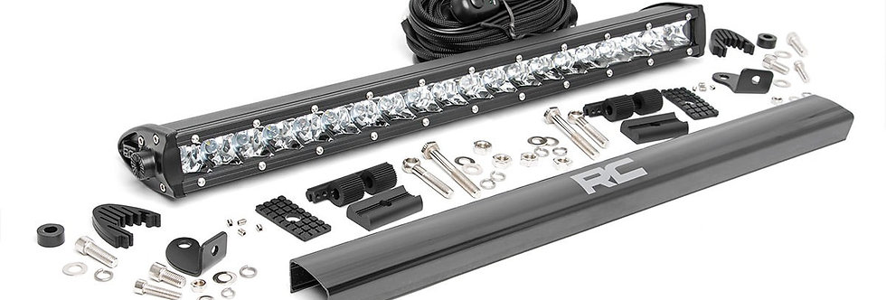 20-INCH CREE LED LIGHT BAR - (SINGLE ROW | CHROME SERIES)