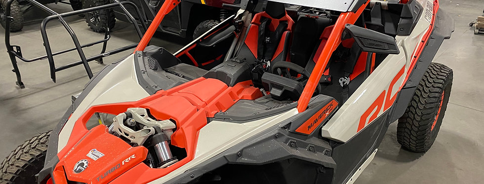 Can Am X3 Flat Roof