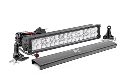 20 inch cree led light bar dual row x5 series side by if youre looking for the biggest most powerful led light bars on the market look no further than rough countrys extra bold extra bright x5 led lights mozeypictures Images