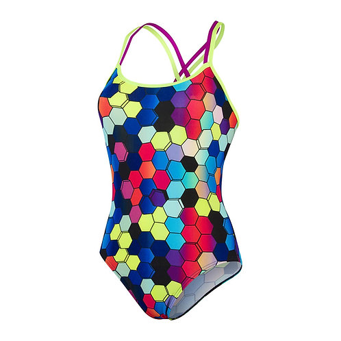 MAILLOT ALLOVER DOUBLE BACK 1 PIECE - SPEEDO