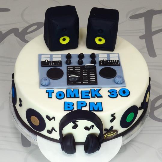 Tort dla DJ-a