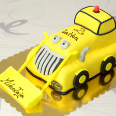 Tort Koparka 3D