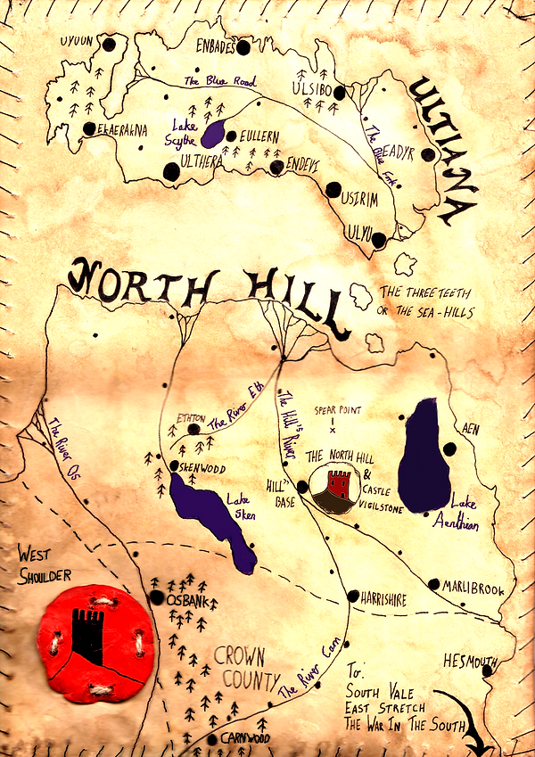 Map for 'What Little We May Do' Novel