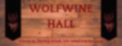 Wolfwine Hall header