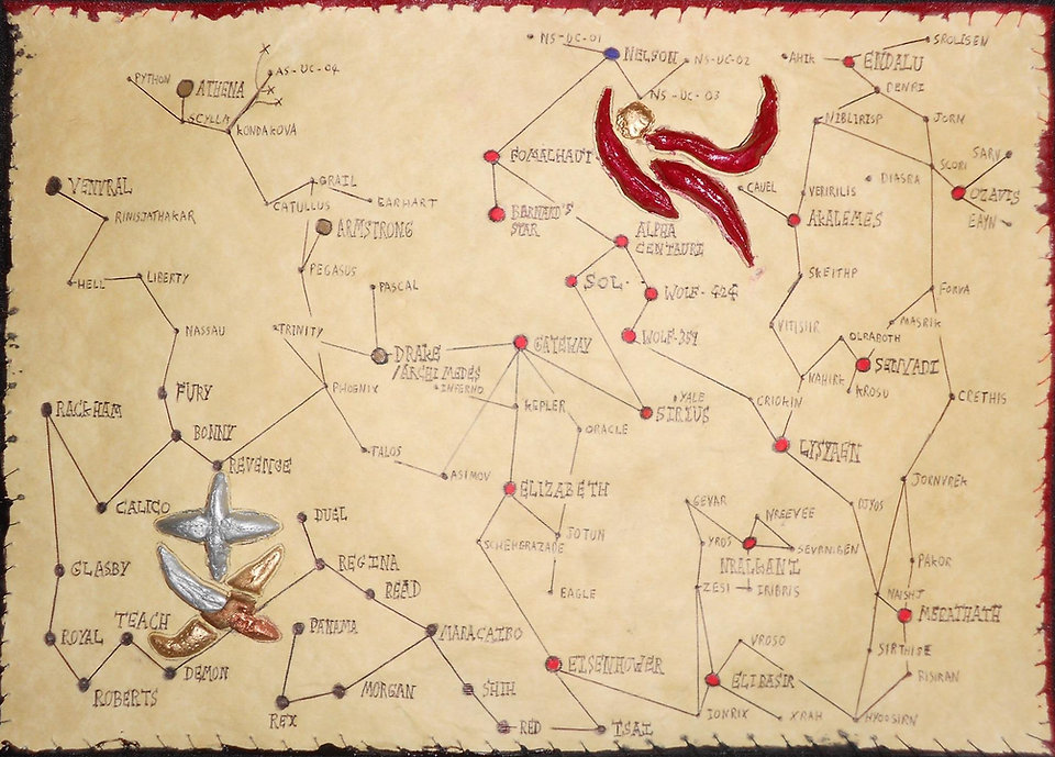 Human/Velnibeth Star Chart
