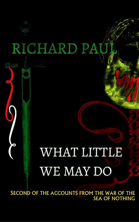 Cover for 'What Little We May Do'