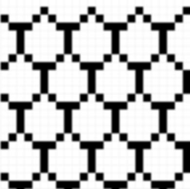 Rainbow Fish Tessellating Pattern
