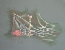 פמוט על בד, 2003