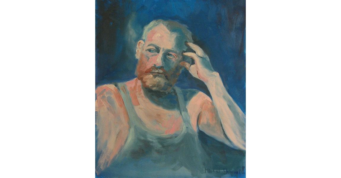 איש מביט לצד, 2005