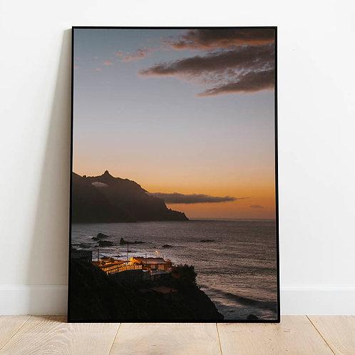 Sunset in Benijo