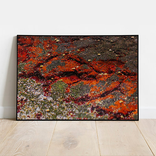 Water Art - Orange