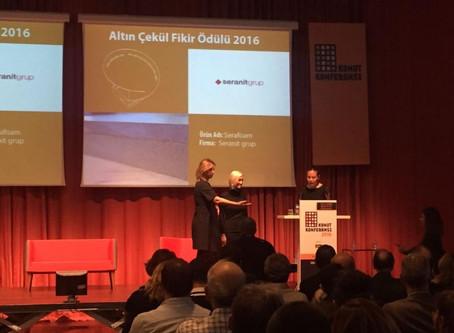 Associate Prof.Dr. Ece Ceylan Baba Receives Golden Plumb Idea Award