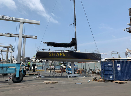 Reichel Pugh 42 Yacht wrapped for new sponsor
