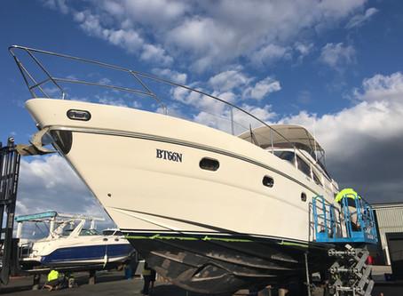 Boat Wrap - Princess 65 Hull Wrap in Sydney (Video)