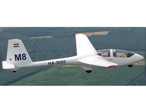 Modern 2 seat PW6 club training glider purchased