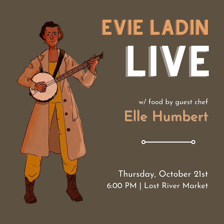 Community Concert : Evie Ladin Live!