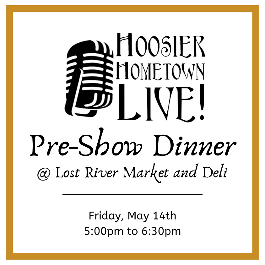 Hoosier Hometown Live Dinner