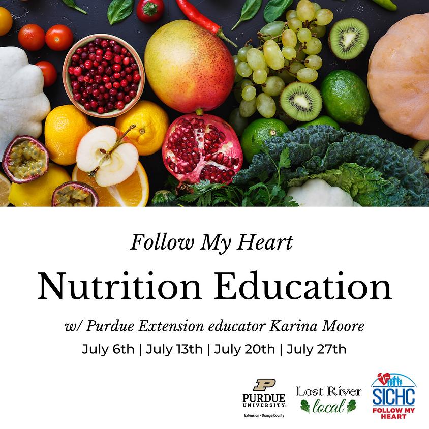 FollowMyHeart Nutrition Education Program