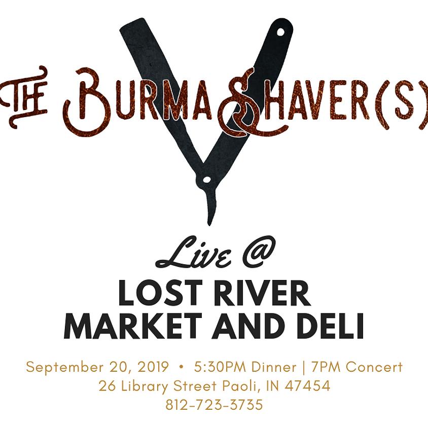 BurmaShaver(s) LiVe
