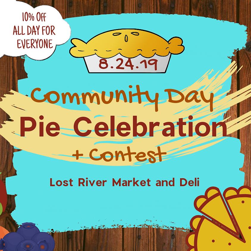 Community Day Pie Celebration & Contest