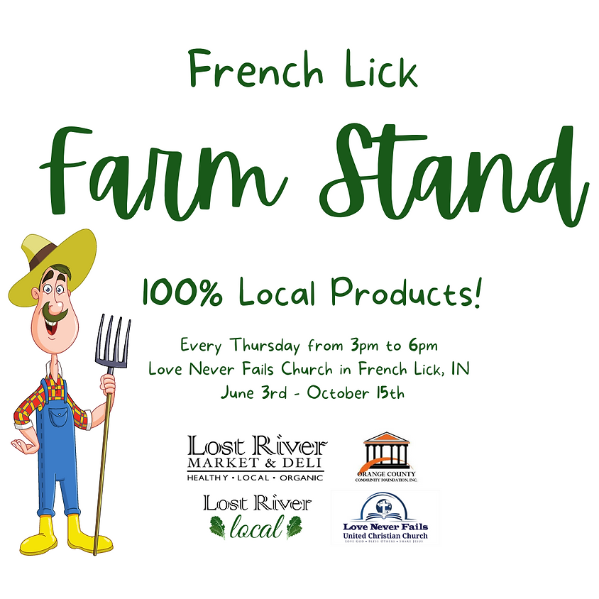 Grand Opening : French Lick Local Farm Stand