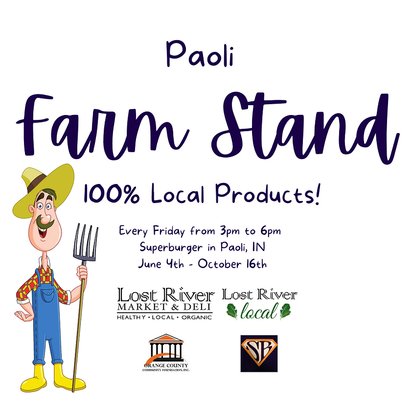Grand Opening : Paoli Local Farm Stand