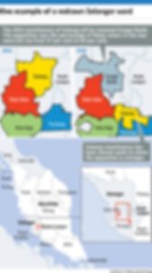 Malaysia GE14 Parliamentary Seats Redelineation Example