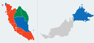 Malaysia GE14| Results for State Seats