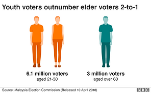 GE14 Registered Voters by Age Groups