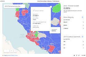 Malaysia GE14 Electoral Map