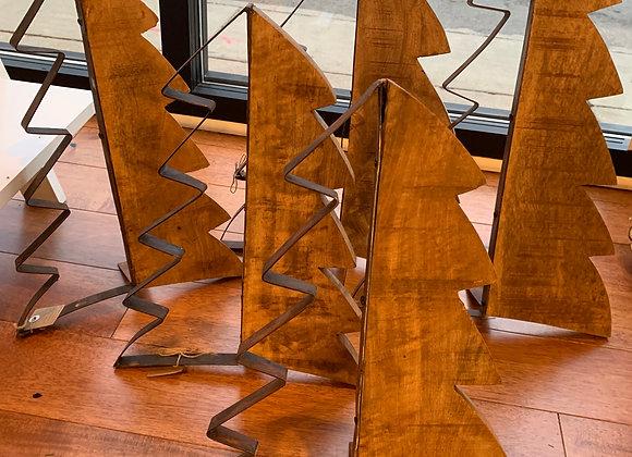 Rustic Wood & Metal Christmas  Tree