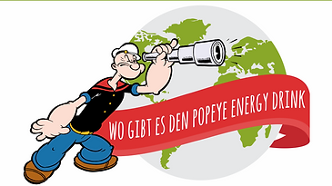wo gibt es popeye energy drink, distributor, popeye energy drink distributor werden, popeye energydrink kaufen, popeye energydrink verkaufen