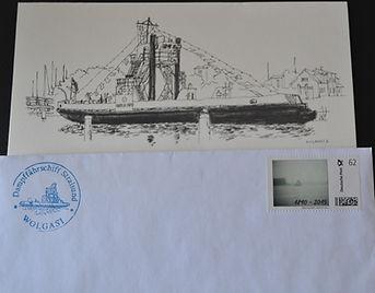 Ersttagsbrief mit individueller Briefmar