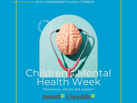 Children's Mental Health Week – 1 -7 February 2021
