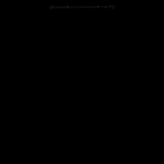 Light Gray Leaf Minimalism Curved Text L