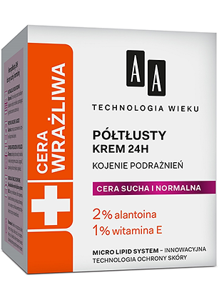 CERA WRAZLIWA - KREM POLTLUSTY 50ml