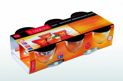 CLASSIC CUP WITH SAUCER 250ml *6 pack*