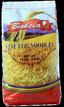 BABCIA EGG NOODLES - FINE / KRAJANKA 400g