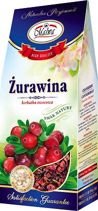 MALWA DRIED CRANBERRY FRUIT TEA / SUSZONA ZURAWINA 80g