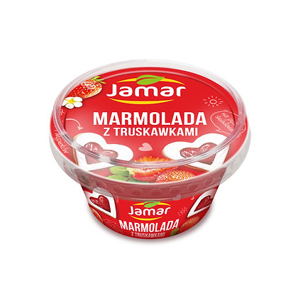 MARMOLADE WITH STRAWBERRY 250g