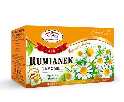 MALWA RUMIANEK / CAMOMILE TEA {20 tea bags}