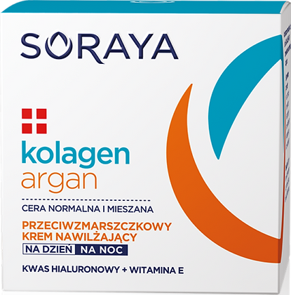 KOLAGEN + ARGAN KREM NAWILZAJACY 50ml