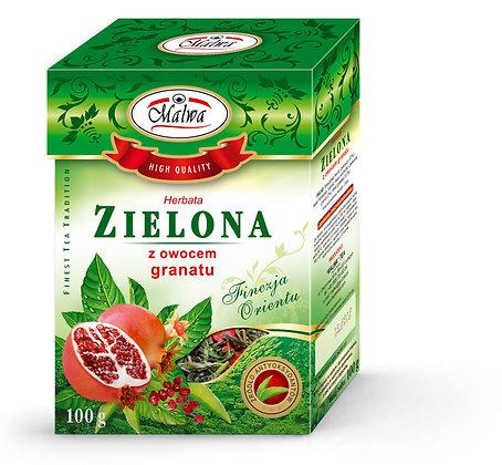 MALWA GREEN TEA WITH POMEGRANATE 100g