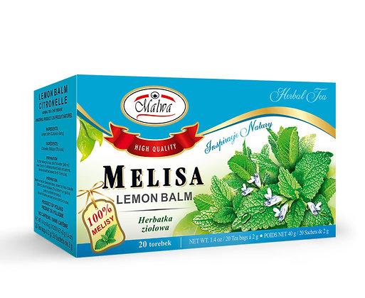 MALWA MELISA / LEMON BALM TEA {20 tea bags}