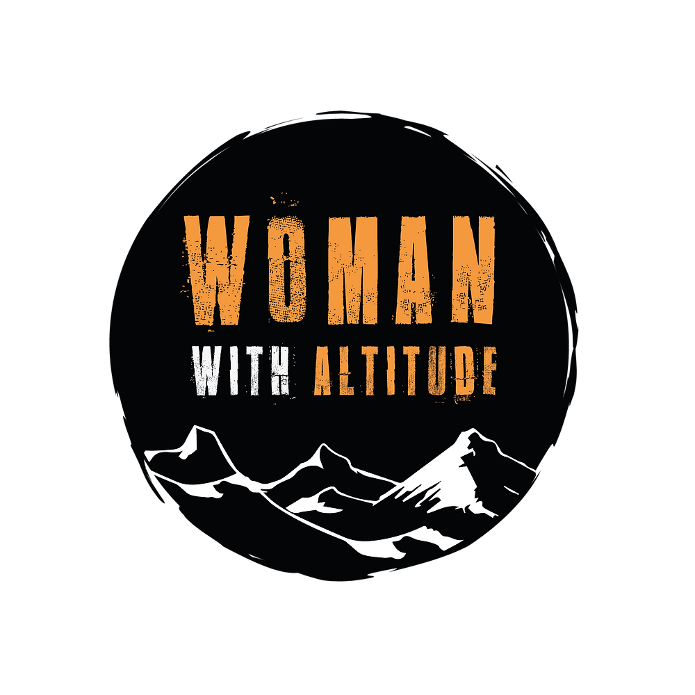 Woman with Altitude, Logo