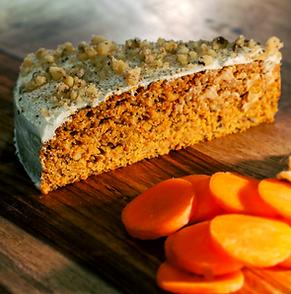 Get a bite pumpkin carrot cake