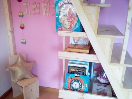 """Faça você mesmo! Crie um cantinho de leitura, pois """"livros são um mundo, com um mundo lá dentro""""!"""