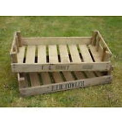 Long wood fruit tray