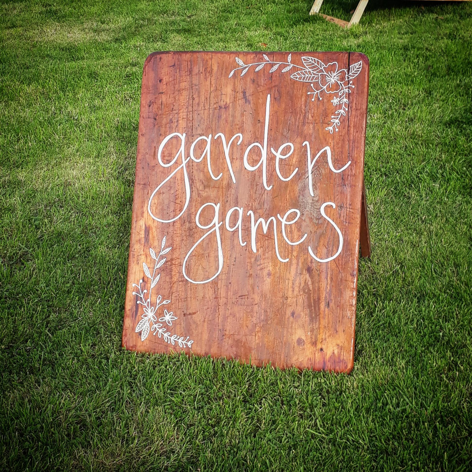 COMPLETE GARDEN GAMES SET